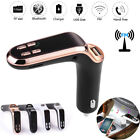 Auto Car FM Transmitter Bluetooth Handsfree LCD MP3 Player Radio Adapter Charger