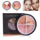 New SELAMY Foundation Base Brightener Face Camouflage Concealer Cream Palette