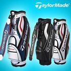 Latest TAYLORMADE TM M-5 Middle Size Golf Caddy Bag 3 Color Tour Carry Cart A_r
