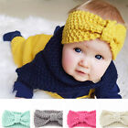 New 5Colors Baby Toddler Bowknot Hair Elastic Hairband Accessories Headband