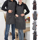 Womens Mens Chef Kitchen Aprons Restaurant Baking BBQ Cooking Dress adjustable