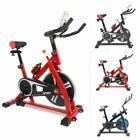 Stationary Exercise Bike Cycling Adjustable Resistance Bicycle Cardio Training