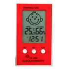 Digital LCD Thermometer Hygrometer Baby Smile Crying Face Humidity Meter