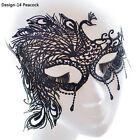 EP_ Womens Black Lace Butterfly Face Mask Masquerade Party Ball Prom Costume Che
