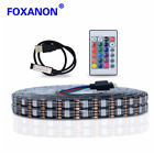 light stripe - USB DC 5V Waterproof 5050 RGB LED Strip 0.5/1/2/3/4/5M Flexible Light IR Remote