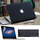 Matte Hard Shell Case Keyboard Skin LCD Film For MacBook Air 11 Pro 13/15 Retina