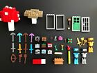 Lego Minecraft blocks accessories tools and weapons single sale combine shipping