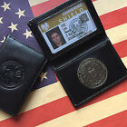 Special Agent Shield The Avengers Metal Badge Driving License Wallet ID Holder