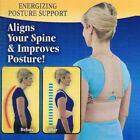 As Seen On TV Royal Posture Energizing Support Brace Align Spine Men Women S -XL