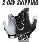 EvoShield Speed Stripe Adult SPEED STRIPE GEL TO SHELL Batting Gloves BLK/GRAY