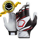 EvoShield Speed Stripe Adult SPEED STRIPE GEL TO SHELL Batting Gloves WH/BLK/RED