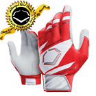 EvoShield Speed Stripe Adult SPEED STRIPE GEL TO SHELL Batting Gloves RED/WHT/GR