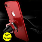 360°Rotating Ring Stand Magnetic Case Car Holder Cover For iPhoneX 8 7 6 6S Plu