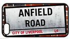 """""""ANFIELD ROAD STREET SIGN"""" REAR COVER for iPHONE for football fan from Liverpool"""
