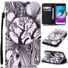 For Samsung Galaxy S6 /S7 Edge Leather Wallet Card Slots Flip Stand Case Cover