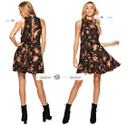 FREE PEOPLE   XS+S+M+L   Printed She Moves Dress New Tags