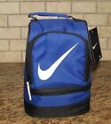 NIKE DOME LUNCH BOX TOTE GRAY CAMO BLUE VOLT PINK