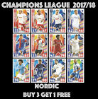 MATCH ATTAX CHAMPIONS LEAGUE 2017/18 NORDIC EDITION 17/18