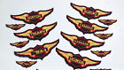 1970s STYLE MOTORCYCLE WINGS - PATCHES - 8 MAKES - 3 SIZES - 250/300mm £2.0 GBP on eBay