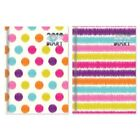 2018 Pocket Small Size Diary Week To View Strips Spots Patterned Design 0356