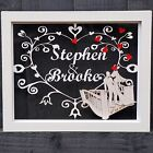 Personalised Gift Christmas Frame Him Her Wedding Engagement Anniversary Present