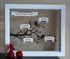 Personalised Love Gift Photo Frame For Her Him Family Tree Anniversary Present