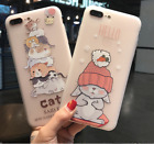 Cartoon Silicone Soft Case Cover for Samsung Galaxy S8 S8 Plus S7 S6 J2 J3 J5