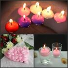 1-100pcs Pink Home Room Pool Bath Floating Candle Disc Floater Candles Unscented