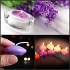 1-100pcs Purple Home Decor Dinner Floating Candle Disc Floater Candles Unscented