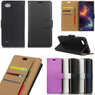 SF-100 For Sony L1 L2 Asus BQ Nokia 2 3 5 6 7 8 9 Leather Wallet Card Case Cover
