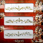 1 PACK of BRIDAL Gold **CHOOSE YOUR STYLE** Indian  Gem TIKKA Festival BINDI