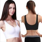 Ladies Seamless Shape Wear Comfort Bra  Detail Support  Sports Vest Yoga A++++++