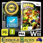 (Wii Game) Crash: Mind Over Mutant / Bandicoot (PG) PAL, Guaranteed, Cleaned