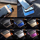 MIRROR FRONT BACK TEMPERED GLASS COLOR SCREEN PROTECTOR FOR APPLE IPHONE 8 7 6 5