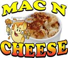 Mac N Cheese DECAL (Choose Your Size) Concession Food Truck Vinyl Sticker