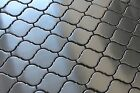 Stainless Steel Arabesque Mosaic Tiles for Kitchen Backsplash/Accent Wall