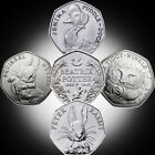 Rare Beatrix Potter 50p Coins Jemima Puddle-Duck, Peter Rabbit, Squirrel Nutkin