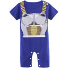 Baby Boy Dragon Ball Z Costume Romper Newborn Halloween Set Infant Vegeta Outfit