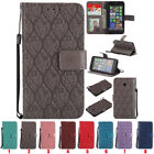 Pattern Shockproof Wallet Flip PU Leather Phone Case Cover For Nokia/Moto Bumper
