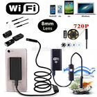US Wireless 720P Waterproof WIFI Camera Inspection Endoscope For Samsung Phones