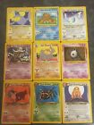 Neo Destiny rares/uncommons/commons Pokemon Cards-all cards are Near Mint-Mint