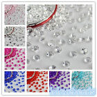 1000x 6.5mm Acrylic Diamond Confetti Wedding Party Crystals Scatters Decoration