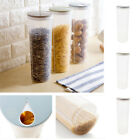 New Crisper Noodle Box Plastic Container Storage Spaghetti Cereal Canister Tool