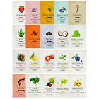 [SKIN FOOD] 10 PCS Set - Beauty In A Food Mask Sheet PACK Skin Care / 20 Kinds