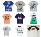 NWT Gymboree Boys Graphic Tee Shirt Size  5 6 7 8 10 & 12 Selection!