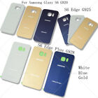 New Battery Door Back Glass Cover Housing For Samsung Galaxy S6 / Edge / Plus US