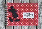 Mickey Mouse Disney Disneyland Personalised Notebook/Autograph Book