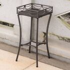 International Caravan Valencia All-Weather Wicker Outdoor Plant Stand