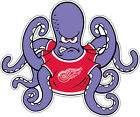 Detroit Red Wings Vinyl Sticker Decal Laptop Car Cornhole Wall Hockey Octopus $11.2 USD on eBay