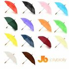 Plain Jollybrolly Umbrellas (White, Black, Red, Green, Orange, Purple, Blue )